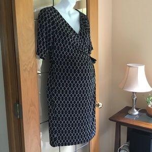 Motherhood maternity wrap dress